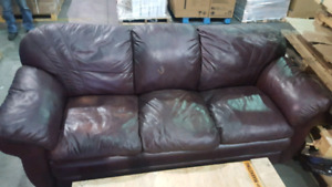 Free lazy boy leather couch.