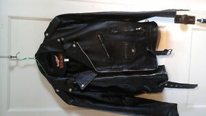 Size M or L New leather motorcycle jacket