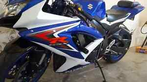 Mint like new 2008  Suzuki Gsxr 750