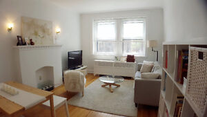 Sunny and spacious 3 1/2 Monkland Village apartment