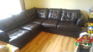 Minor broken sectional to trade for a couch