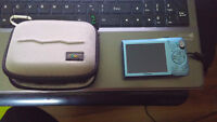 Canon SD1300IS blue, battery, charger and case