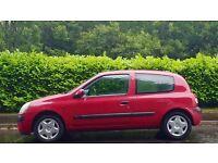 Renault Clio 1.1, 74000 Miles, July MOT