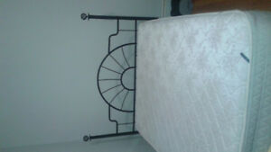 Bed frame and head board