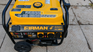 Firman Generator with remote start like new