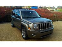 LHD 2007 Jeep Patriot 2.4 ( 168bhp ) 4X4 CVT AUTO Limited, LEFT HAND DRIVE
