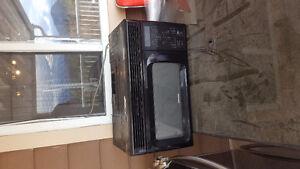 Working microwave
