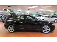2013 AUDI A3 2.0 TDI S Line [Start Stop] Sat Nav Full Leather LED Xenons