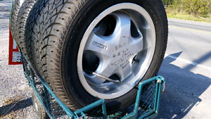 15 inch low profile tires.