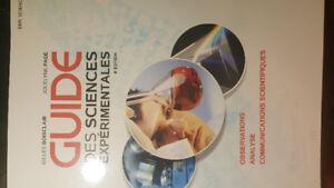 Manuels scolaires  sec 4. Guide des sciences expérimentales 4è É