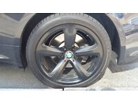 BMW alloys genuine 19 inch. Black from 6 series no tyres.