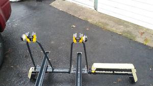 rack à vélo pour 2 et  ski