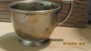 Old Pharmacy 10oz Silver Soldered Cup 05002. Penn. Drug Co.