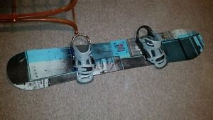 BURTON BOARD & BINDINGS