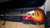 Gibson Les Paul Replica Guitar With Hard Case