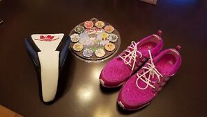 $50 GolfTown GC. Ladies Adidas Sz 9 Golf Shoes & other items