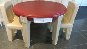 Ensemble table et chaises/Traditions Kids Table & Chairs STEP2 West Island Greater Montréal image 1