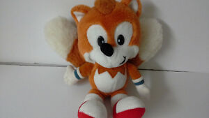 Rare Two Tails plush toy from Sonic The Hedgehog
