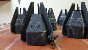 Warhammer Drop pod lot Space marine Wh40k