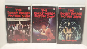 THE ROCKY HORROR PICTURE SHOW, 1,2,3 OF 3, 1990 CALIBER