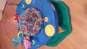 Exersaucer . Play Table . Rock N ride pony <- great shape