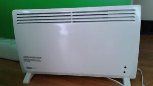 Plug-in 120v convection heater.