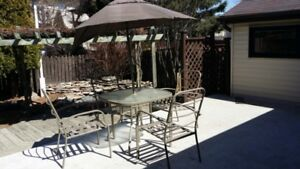 Patio chair and Heater