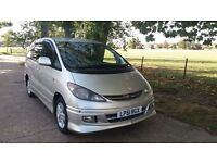****2002 MODEL TOYOTA ESTIMA / PREVIA AUTOMATIC 8 SEATER IN SILVER COLOR*****