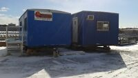 10x20-, 12x20-ft Construction Trailers