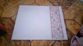 Tiles : ceramic tiles x 16