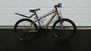 "Boy's 20"" Mongoose 21 speed mountain bike"