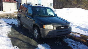 2002 Ford Escape Xls VUS