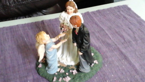 Gorgeous Prayers and Promises Figurine - May I have the ring