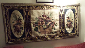 MARQUETERIE WALL TAPESTRY