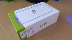 In the box Unlocked LG G5 with Lifeproof and otterbox case