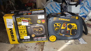 Firman Whisper Series Gas Inverter Portable Generator - 3300