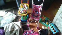 multi items for baby girl for trade or sale.