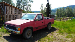 87 Nissan 2wd pickup for parts