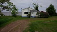 Oceanfront winterized cottage for rent fall and winter