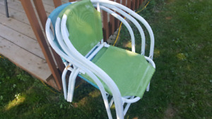 Kids outdoor chairs