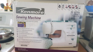 Sears Kenmore sewing machine like new in box with manual
