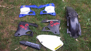 Plastic for 1996 to 2001 yz250 and yz125