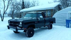 Dodge ram 1500 1992 4x4