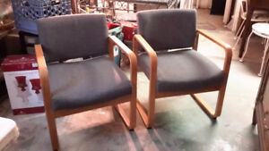 MATCHING MID CENTURY CHAIRS ONLY $75.00 EACH