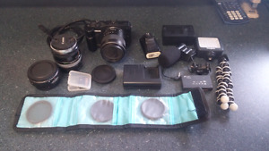 For Sale or Trade Canon EOS M Mirrorless Camera With Lenses