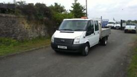 Ford Transit 350L Double cab Dropside pickup