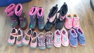Botte et chaussure pour fille