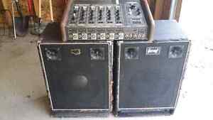 Vintage 6 channel Traynor amp with Garnett speakers