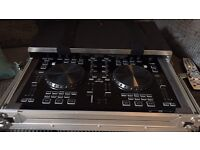 Behringer CMD studio 4a DJ controller and NEW magma XL flight case.