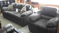 Sofa and Chair - New